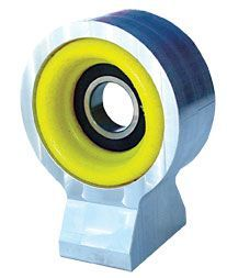 7075-T6 Aluminum High Impact Polyurethane Center Support Bearing.
